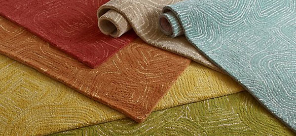 See our selection of beautiful area rugs in solids and patterns