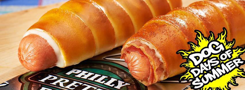 hotdog pretzel