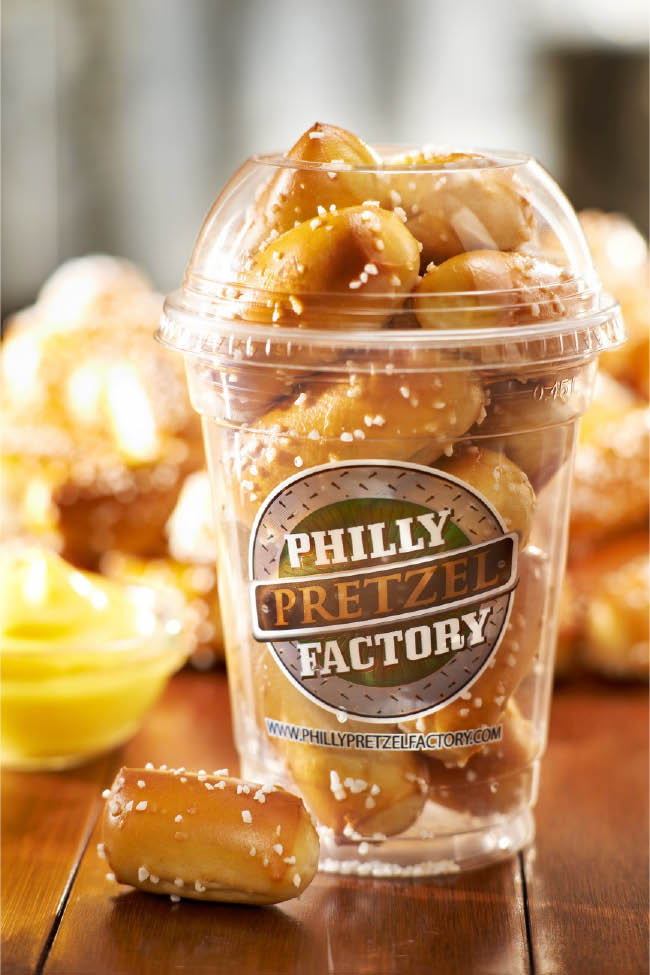 Rivet Shakers from Philly Pretzel Factory in Morristown NJ