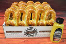 Philly Pretzel Factory Clifton New Jersey 07013 pretzel bun Clifton NJ pretzel rolls Clifton New Jersey philly pretzel factory hours Passaic County where to buy pretzel buns New Jersey hot dog franchise Passaic County