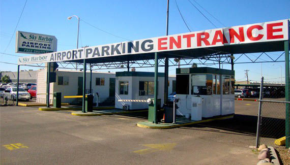 weekly airport parking, phx airport parking, airport parking phx, parking Arizona airport