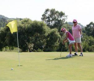 Mother Daughter Golf at Minerals Golf Club at Crystal Springs Resort in Vernon, NJ Logo