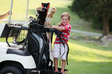 Family Golf at Minerals Golf Club at Crystal Springs Resort in Vernon, NJ Logo