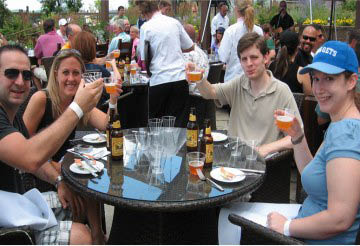 Sit and Relax at NJ Beer & Food Festival at Crystal Springs Resort in Vernon, NJ