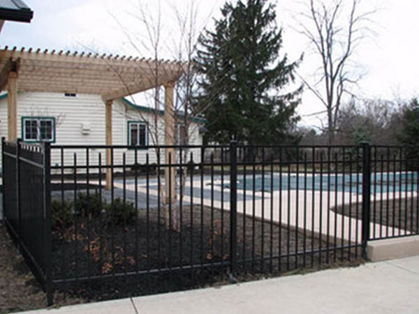 Pickens Fence Company metal fence