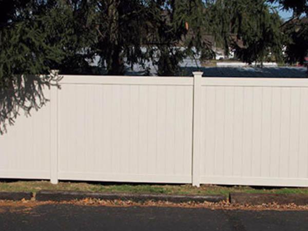 Pickens Fence Company vinyl fence