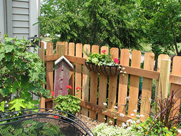Pickens Fence Company wood fence