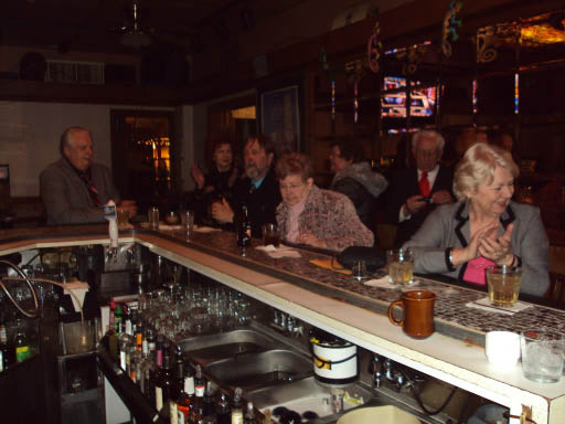 Pitch's drinks and spirts happy customers downtown