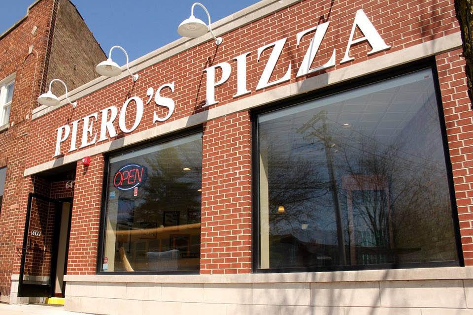 Exterior of Piero's Pizza