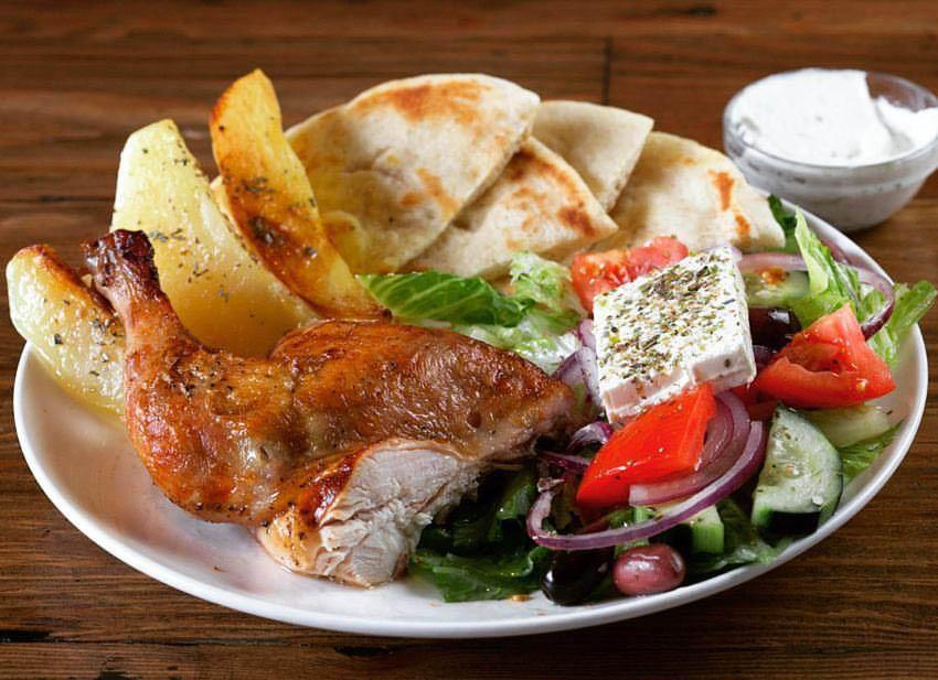 Greek food in Brooklyn