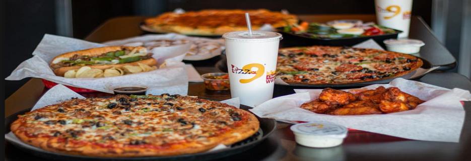 Pizza 9 in Albuquerque, NM banner