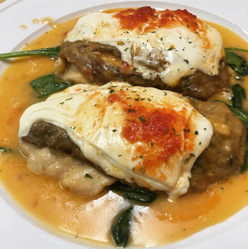 Delicious Italian food entrees