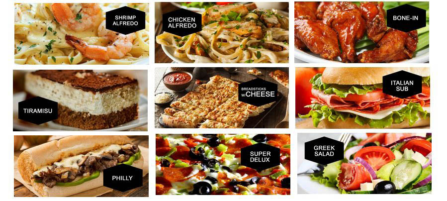 Italian food, chicken wings near Tomball, TX