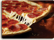 Try Pizza Inn pepperoni max for dinner.