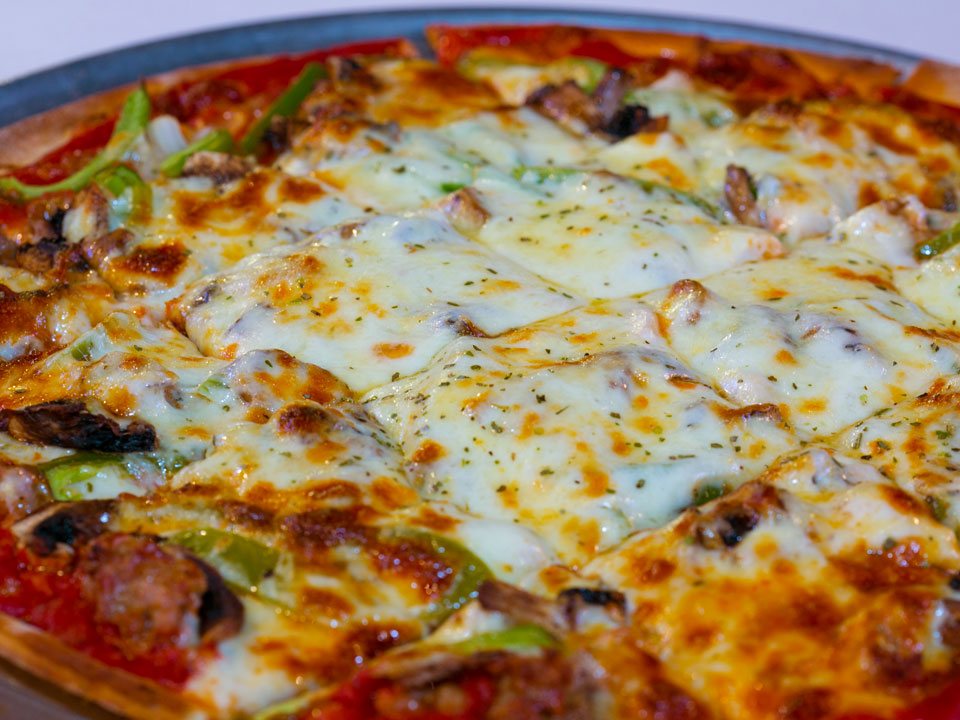 Our pies start with great pizza dough. Dine In  Carry Out  Catering!