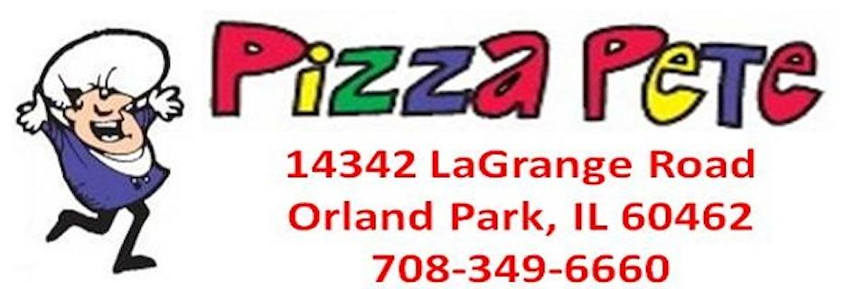 Pizza Pete banner Orland Park, IL