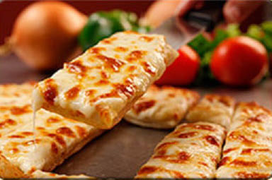 Hot, fresh cheesy bread from Chanello's