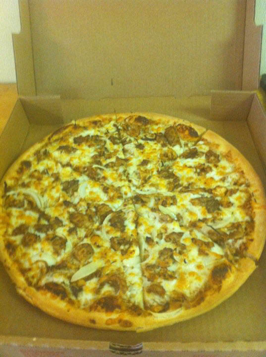 Get pizza delivery in Oklahoma City