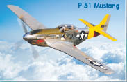 P-51 Mustang aircraft part of the historic aviation museum