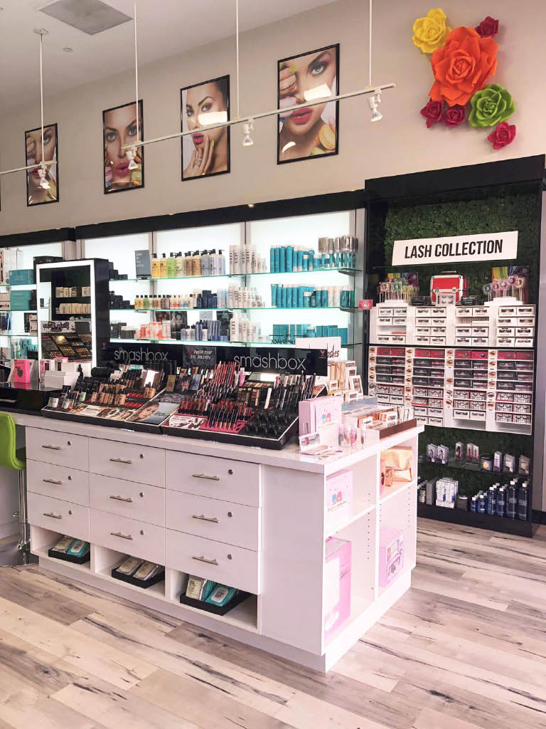We sell name brand beauty products, hair products and natural beauty products Anastasia Too Faced Philosophy Beauty Blender Smashbox Moroccan Oil Nuface  Peter Thomas Roth