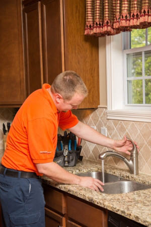plumbing services performed by a plumber from summers of new albany, indiana