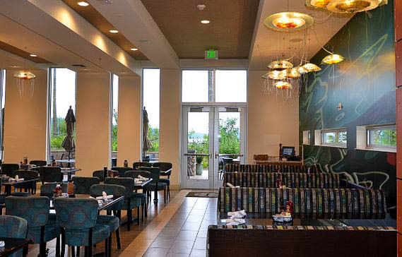 Beach Glass Cafe - open daily for breakfast lunch and dinner