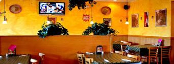 poblano grill mexican restaurant and bar in Frederick, maryland dining room