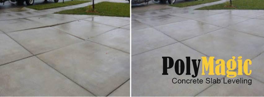 PolyMagic Concrete Leveling Images