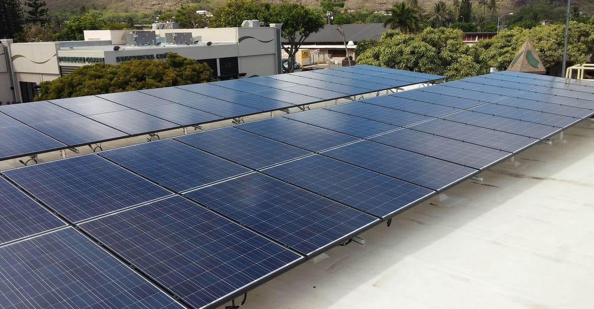 Solar power on The Big Island
