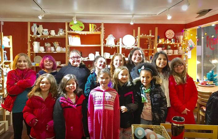 the pottery cove paint your own pottery studio in catonsville, md parties