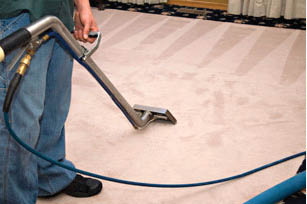carpet cleaning with Power Steam in Fort Worth, TX