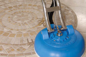 grout cleaning with Power Steam in Fort Worth, TX