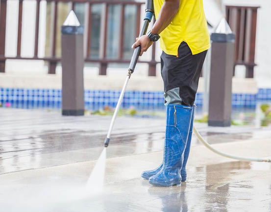 Power washing cleaning services in Wake Forest