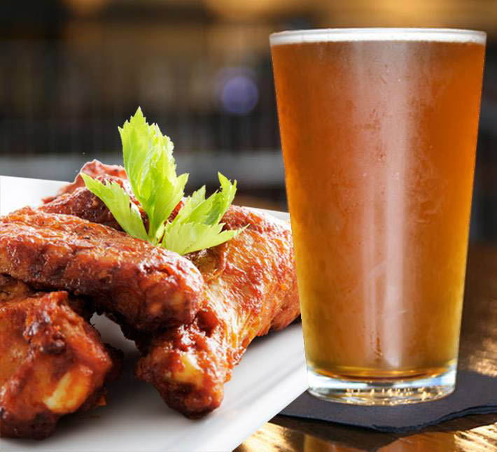 Try a Prairie House draught brew and wings