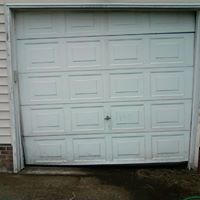 White single garage door from Precision Door