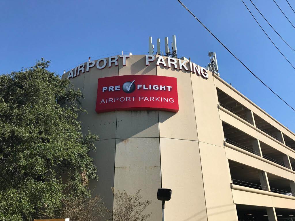 PreFlight Airport Parking garage