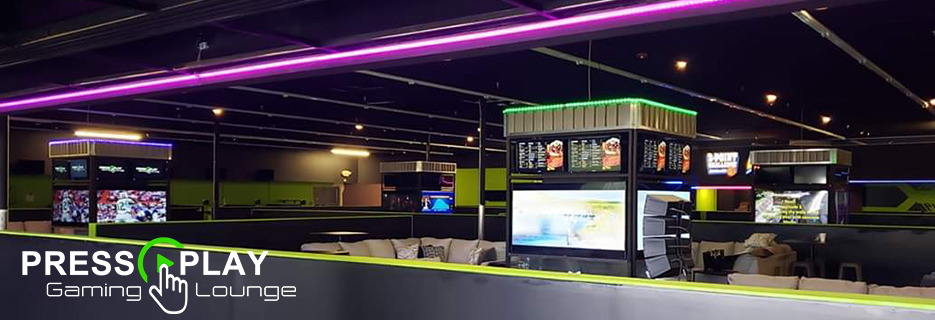 Press Play Gaming Lounge, Brownsburg, IN