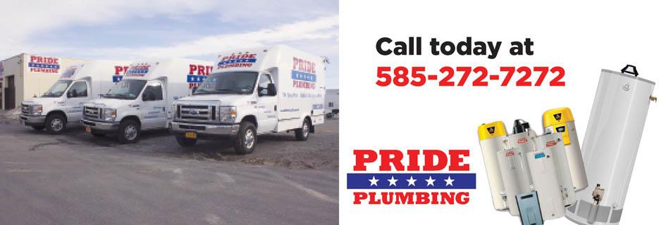 Pride Plumbing Rochester NY Valpak Banner