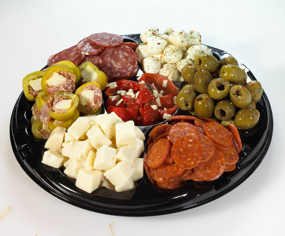 Sampler Platters - Walk into a party with one of these and they'll love you for it