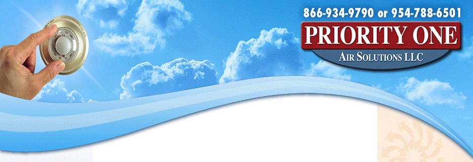 Priority One Air Solutions LLC in Oakland Park, FL banner