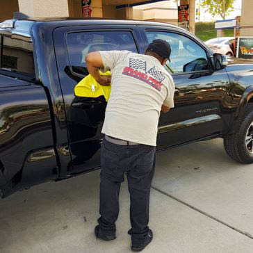Car polish gives your car a spotless shine