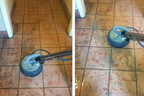 Pro Steam Carpet Cleaning tile cleaning.