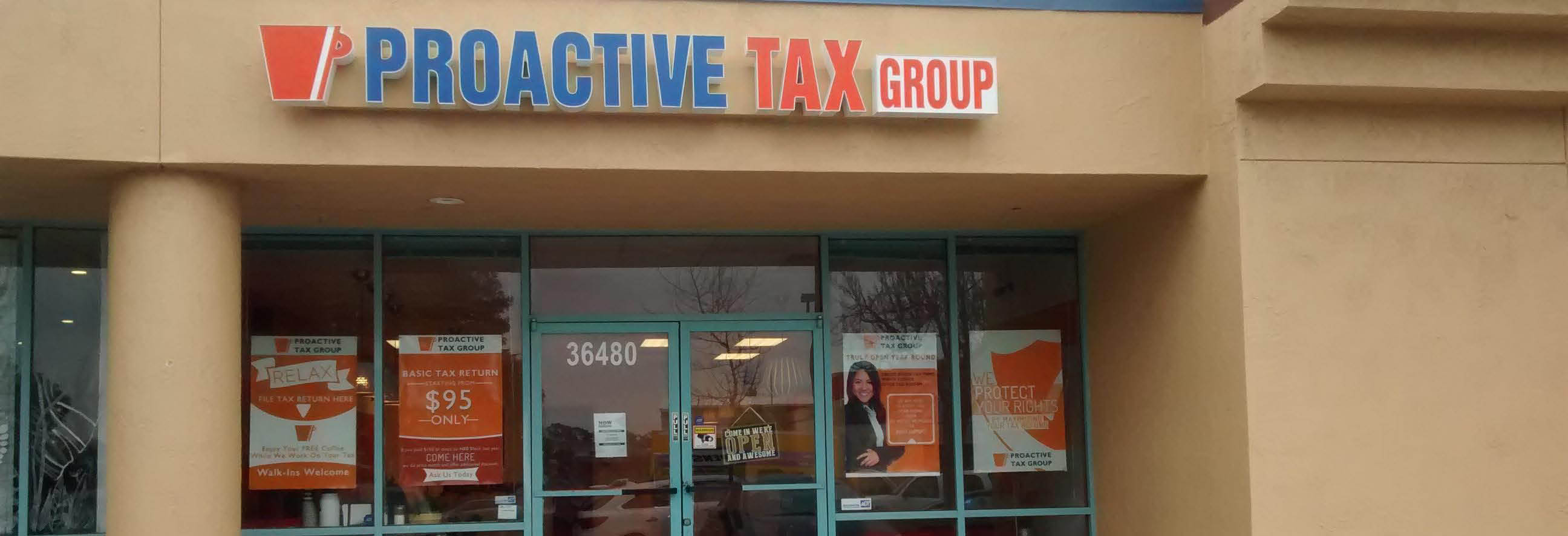 proactive tax group banner