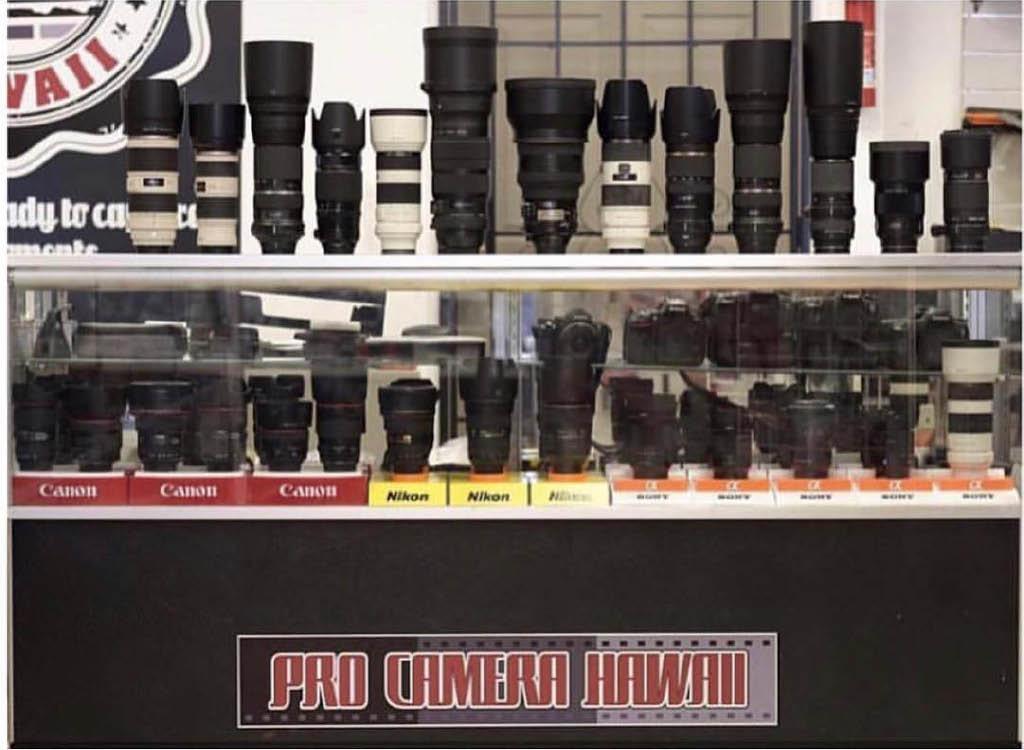 camera lenses; high power camera lenses Honolulu