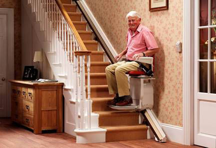 Elevator stair lift
