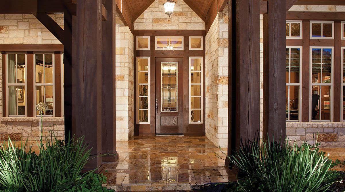 Fiber-Classic Series Entryway Doors from Window World