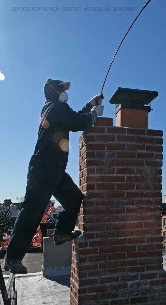 Super Sweeps performs chimney cleaning, repair service and soot removal