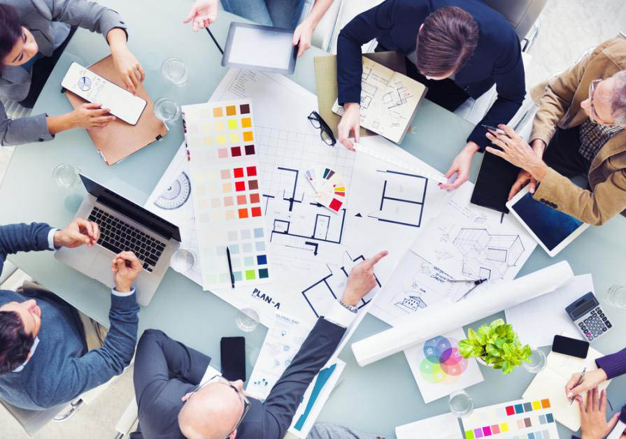 Bring blueprints and engineering copies to your next business meeting