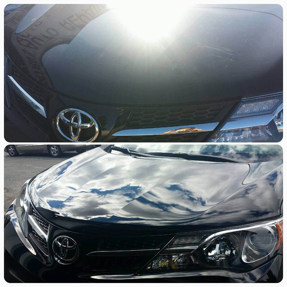 Before and After Auto Detailing