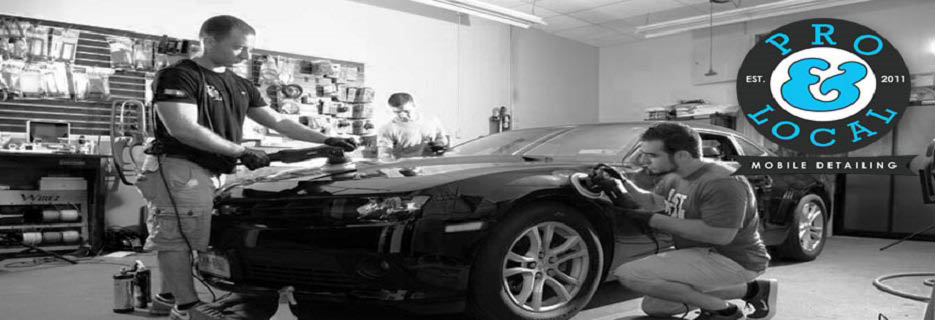 Pro & Local Mobile Detailing in West Springfield, MA Banner ad